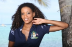 Polo Bahamas navy Coats of Arms
