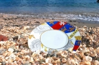 Luxury tableware by coats of arms